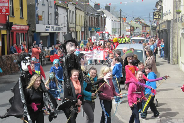 Festival & Fancy Dress Parade, Festival of Finn, Corofin, Co Clare