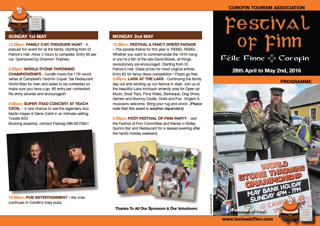 Festival of Finn 2016 Brochure - Outside