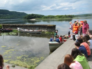 Lark at the Lake Boat Trips - Festival of Finn, Corofin, Co Clare