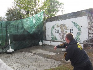 World Stone Throwing Championship - Festival of Finn, Corofin, Co Clare