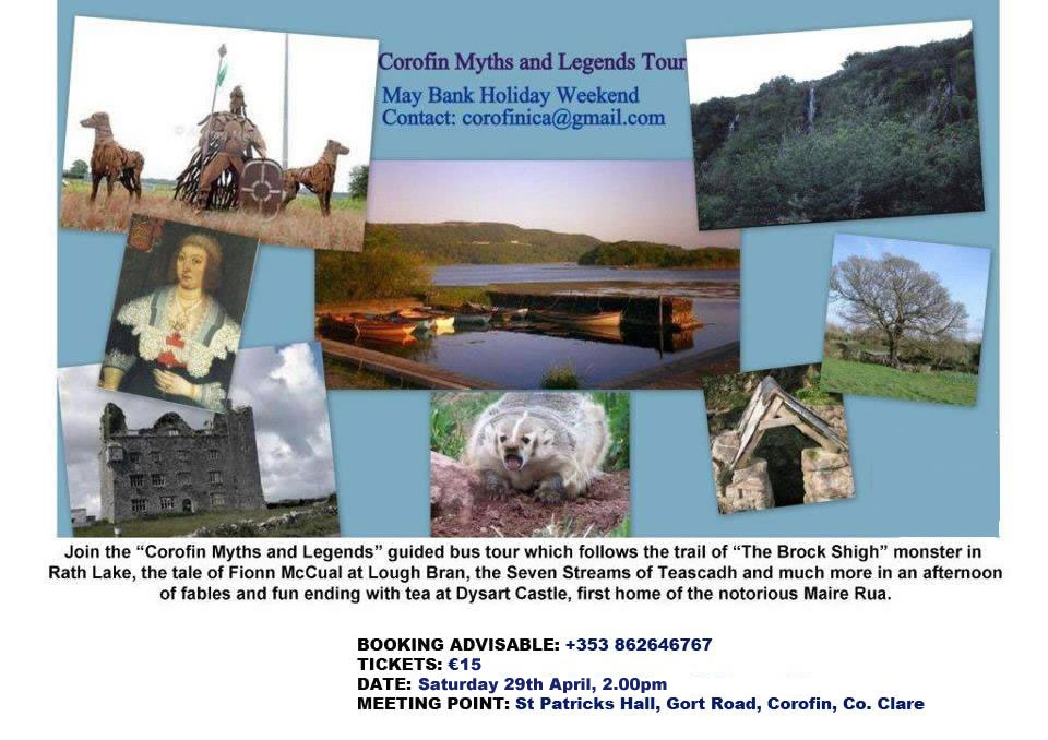 Corofin Myths & Legends Bus Tour