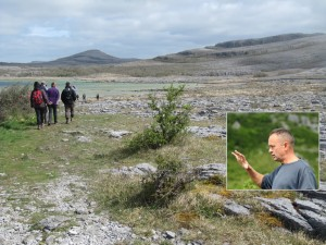 Tony Kirby's Burren National Park Guided Walk - Festival of Finn, Corofin, Co Clare